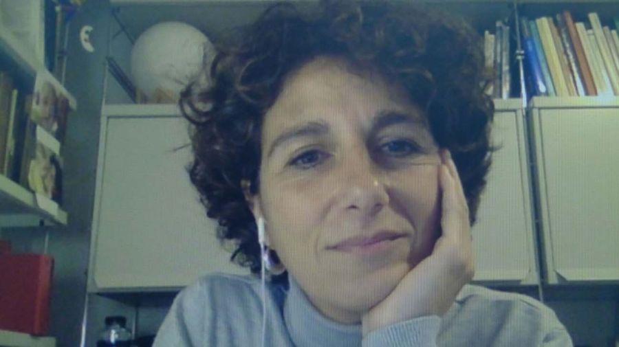 Marina Garcés, en la entrevista con Jorge Fontevecchia.