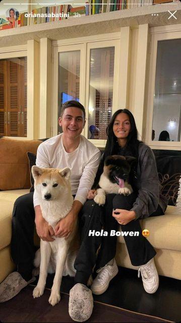 Es oficial: Oriana Sabatini y Paulo Dybala agrandan la familia