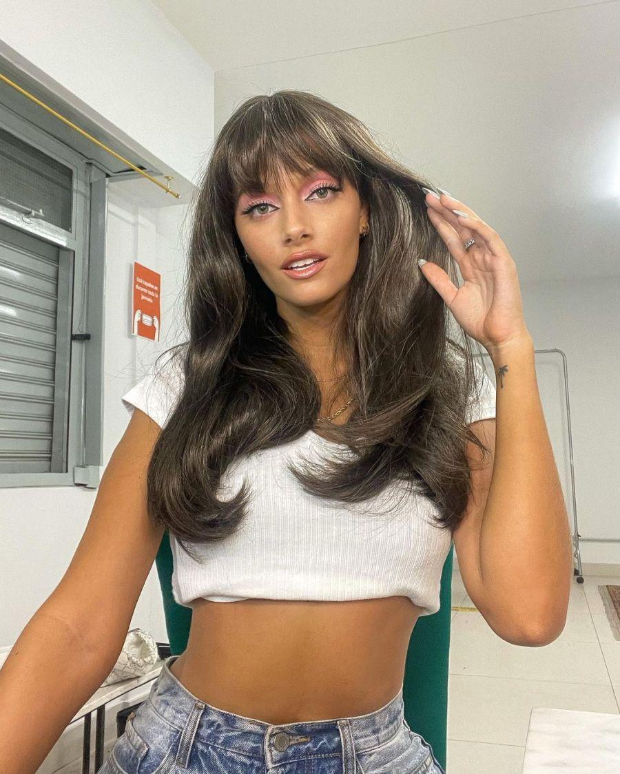 Oriana Sabatini nuevo look