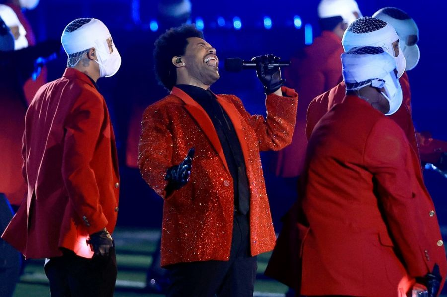 Super Bowl: The Weeknd apostó a Givenchy