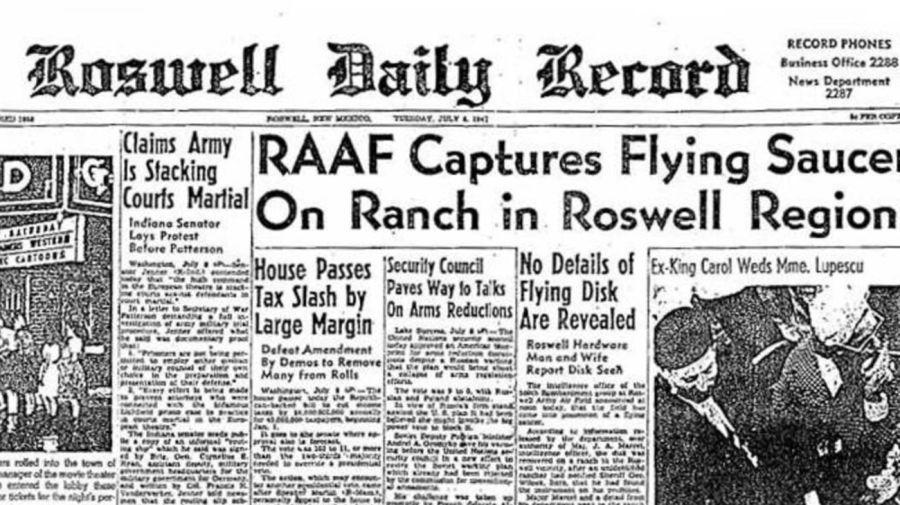 Caso Roswell Diario Extraterrestre