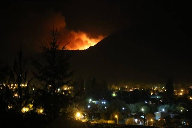 Incendios en El Bolsón