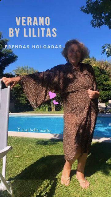 Lilita Carrió celebra a Analía Maiorana como modelo de su marca de moda