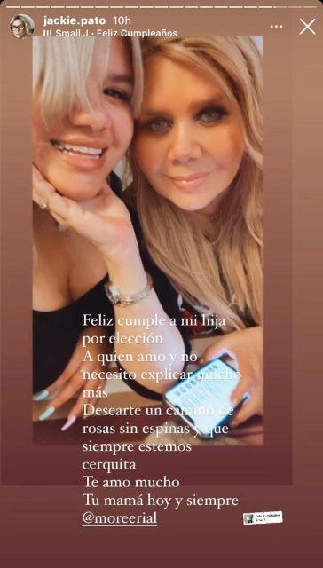 Morena Rial agradeció a todos por los saludos en el día de su cumpleaños