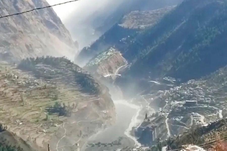 Ruptura de glaciar en India