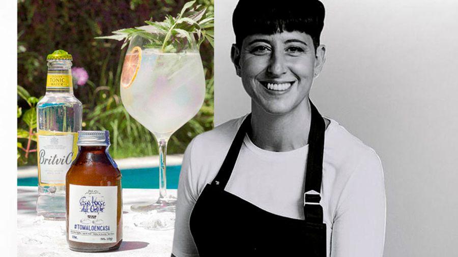 Gin tonic del oeste de Inés de los Santos