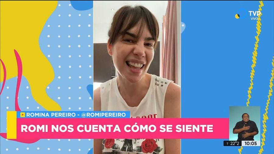 Romina Pereiro tiene Coronavirus y Jorge Rial está aislado