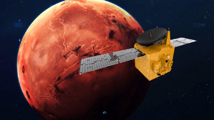 Emiratos Árabes Unidos Sonda Marte