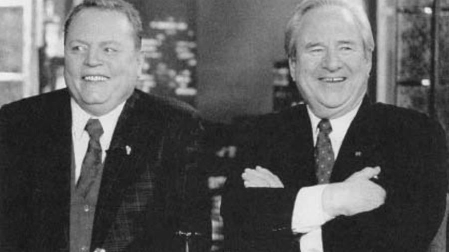 Larry Flint y Jerry Falwell