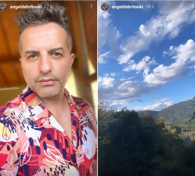 Ángel de Brito sigue de viaje: conocé el otro destino soñado que eligió para sus vacaciones