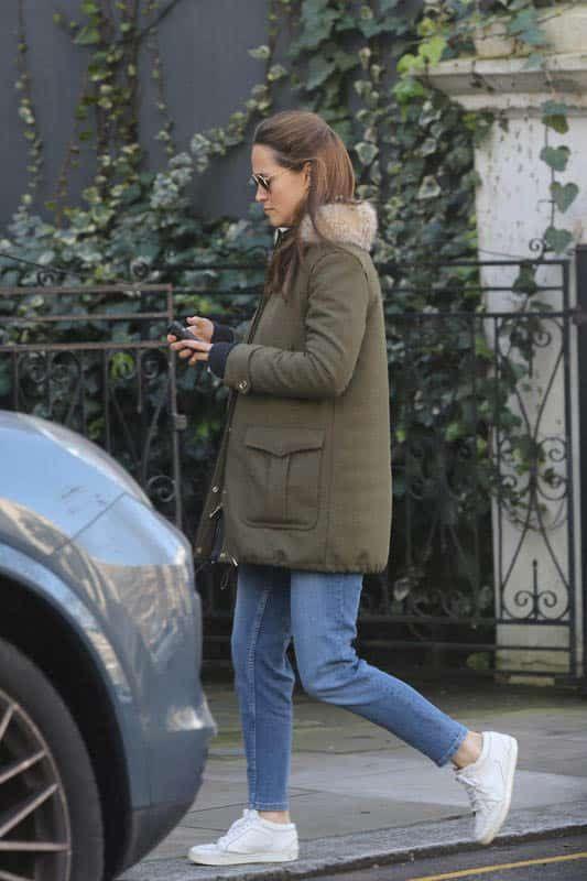 Pippa Middleton desata rumores de embarazo tras ser fotografiada por paparazzis