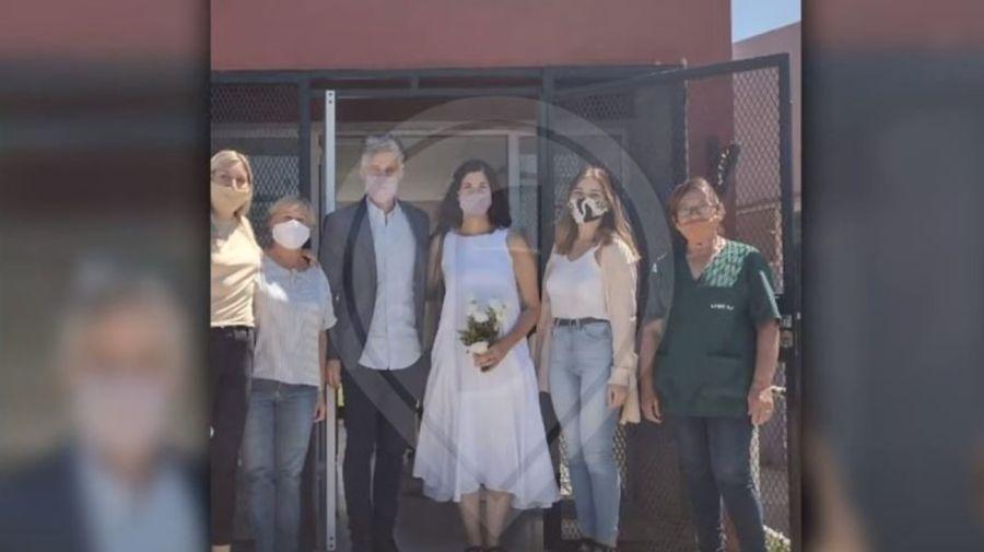 Soledad Villamil y Federico Olivera casamiento