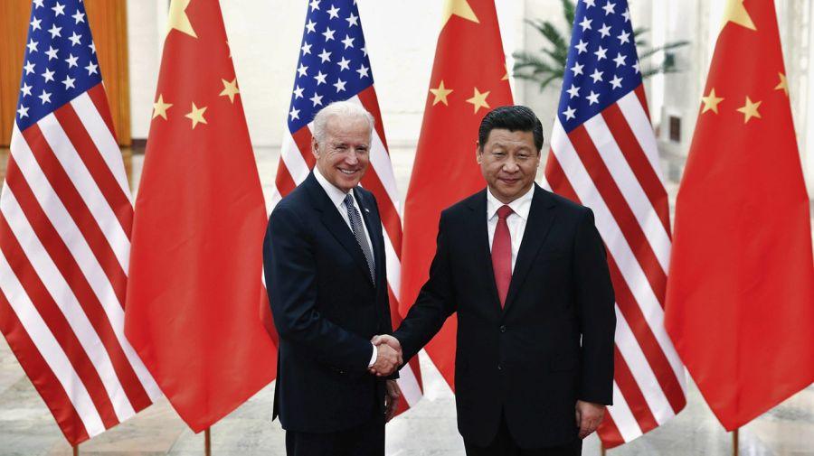 Xi Jinping y Biden 20210211
