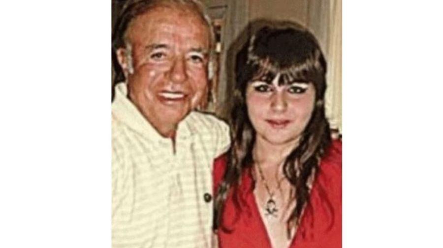 Carlos Menem y Antonella Menem Pinetta
