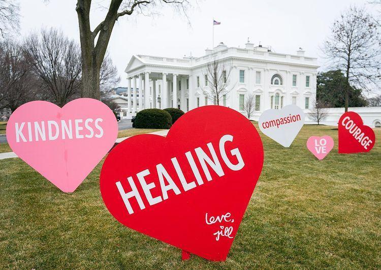 El particular festejo de San Valentín de Joe Biden y su esposa Jill