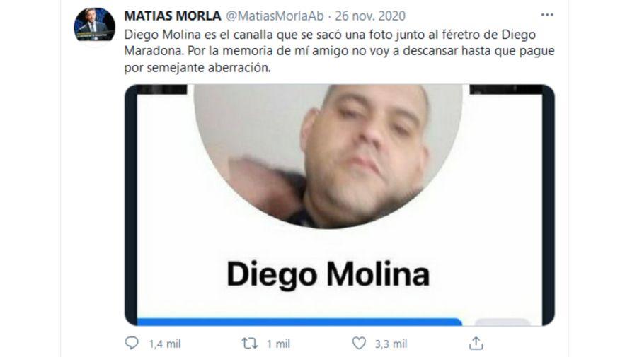 Matías Morla tuit