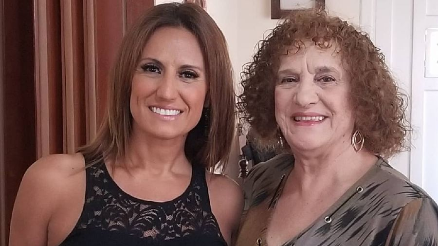 Nancy Duré y su madre