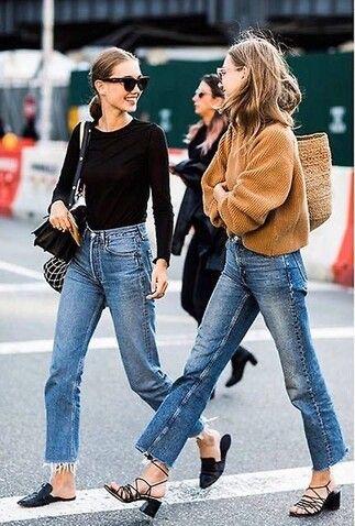 Ribcage jeans, el modelo denim que vas a querer llevar y que ya es furor en Nueva York