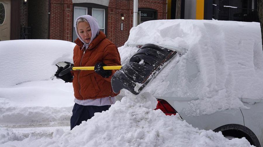 tormenta de nieve en EEUU 20210217