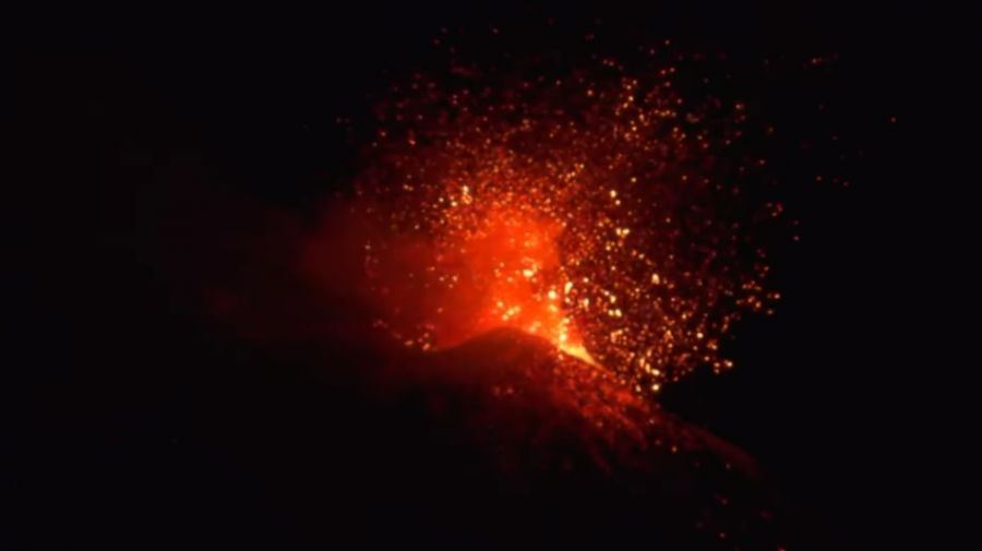 volcán etna italia