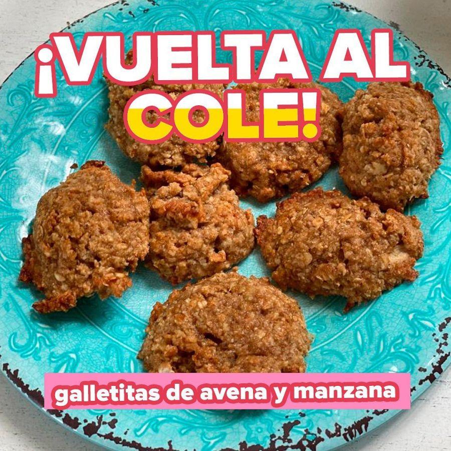 Para la vuelta al cole: Romina Pereiro te enseña a preparar galletitas para los chicos