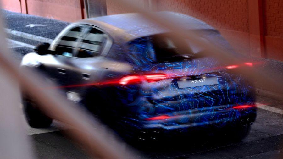 Grecale: primeras imágenes del nuevo SUV de Maserati