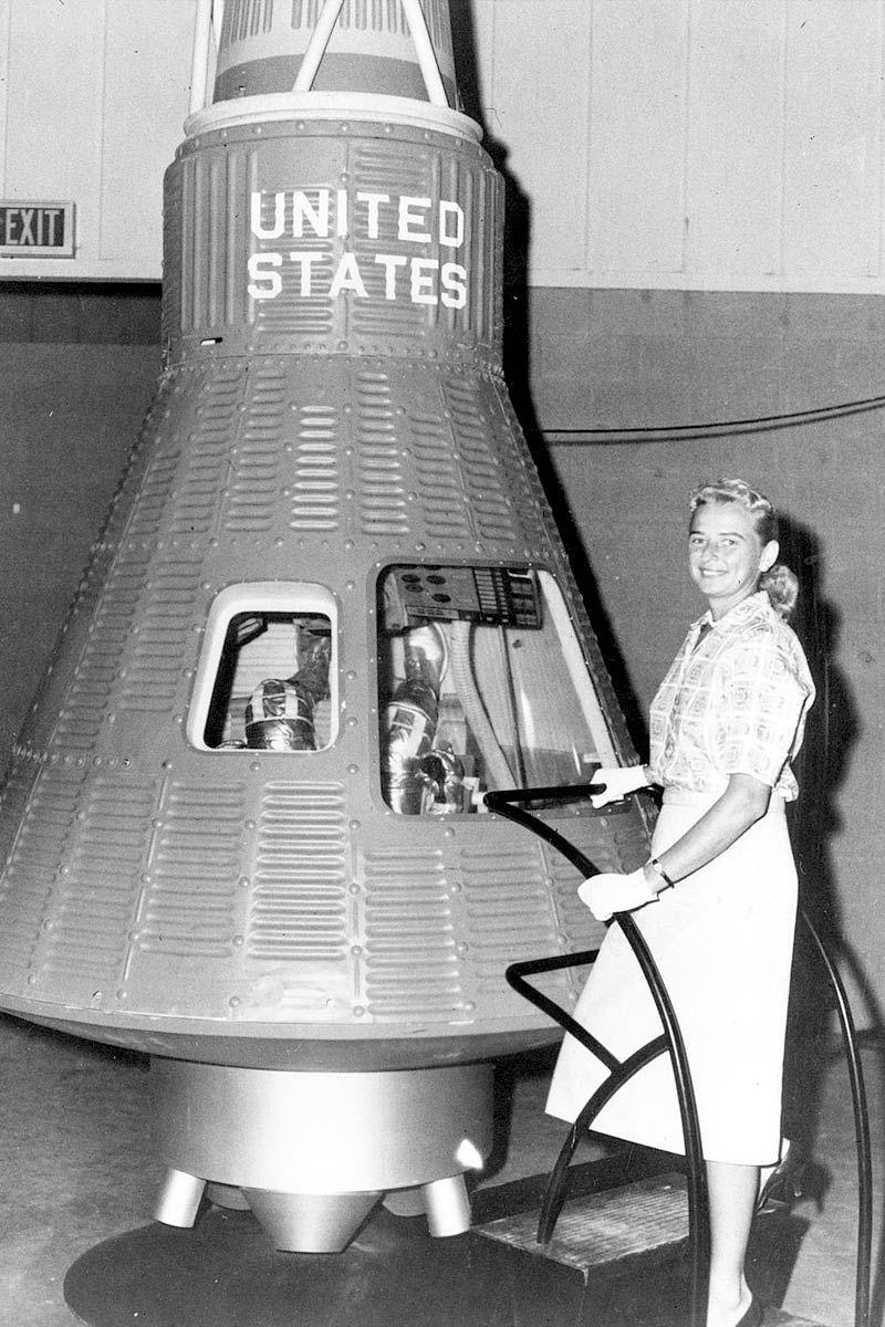 """""""Mercury 13"""", el proyecto de la NASA que estudió enviar mujeres al espacio."""