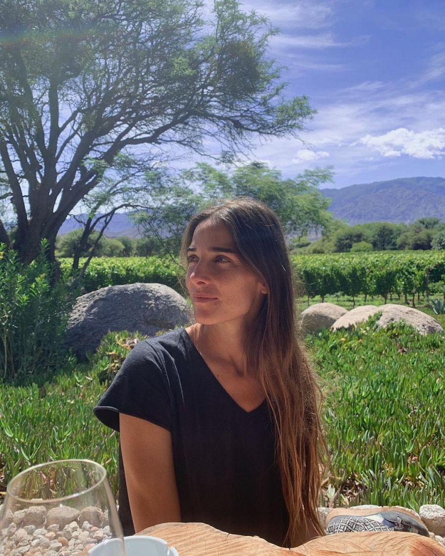 Devuelta en Argentina: Juana Viale mostró su turismo de aventura por la región de Cuyo