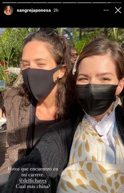 El reencuentro de la China Suárez y Delfi Chaves