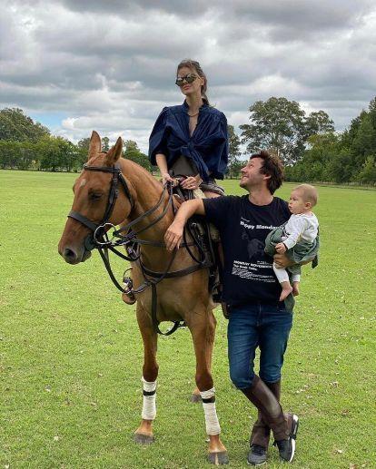 Mirá cómo creció Amancio Vicuña a siete meses de su nacimiento