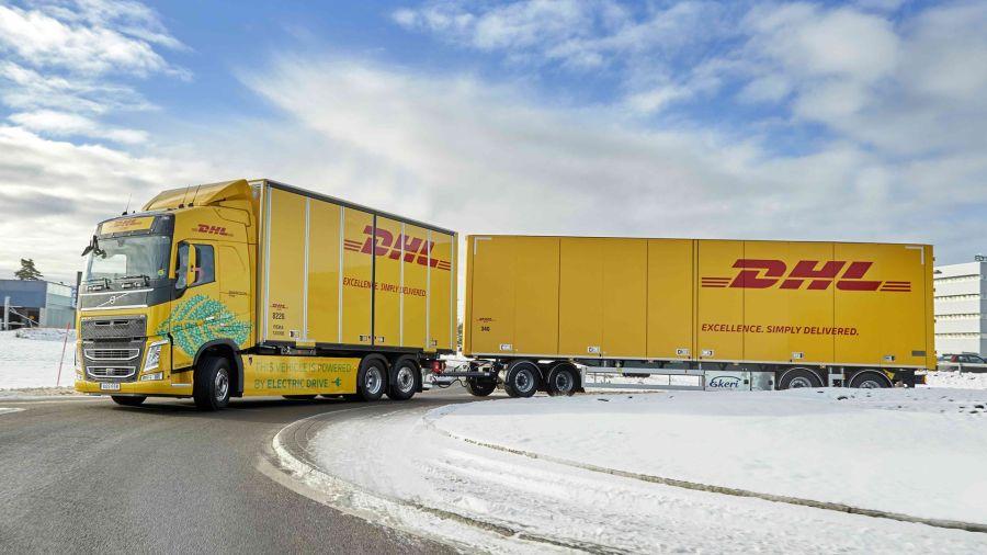 Volvo Trucks y DHL probarán camiones pesados eléctricos