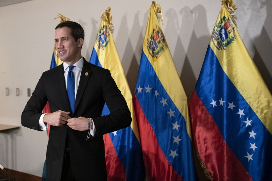 Juan Guaido Holds Assembly Session Ahead Of Parliamentary Elections Boycott