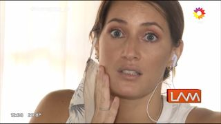 Micaela Viciconte mostró cómo le quedó la cara tras sacarse una muela
