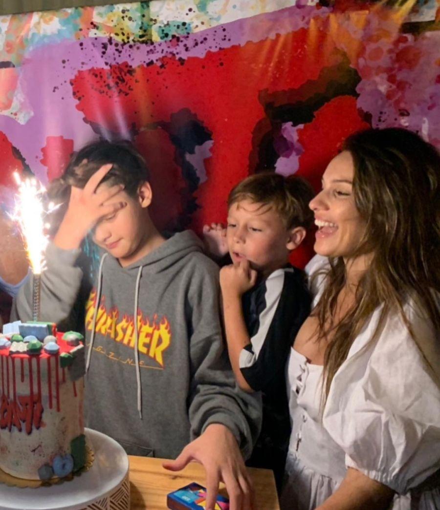 Los emotivos mensajes de Pampita y Benjamín Vicuña a Bautista por su cumpleaños