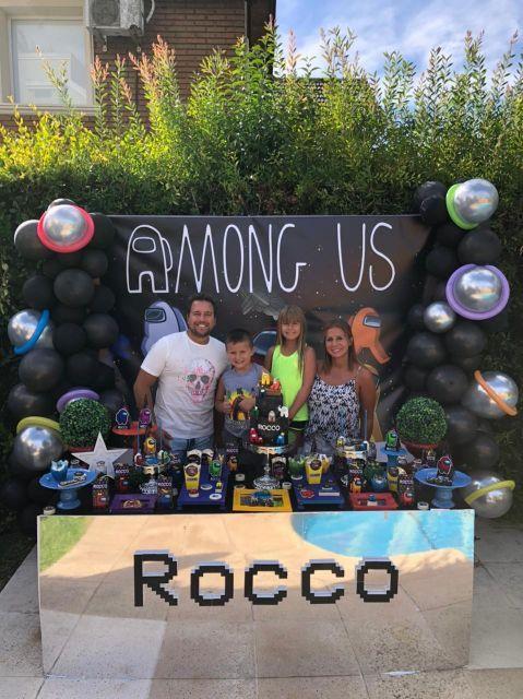 Así fue el cumpleaños de Rocco, el hijo de Fernanda Vives