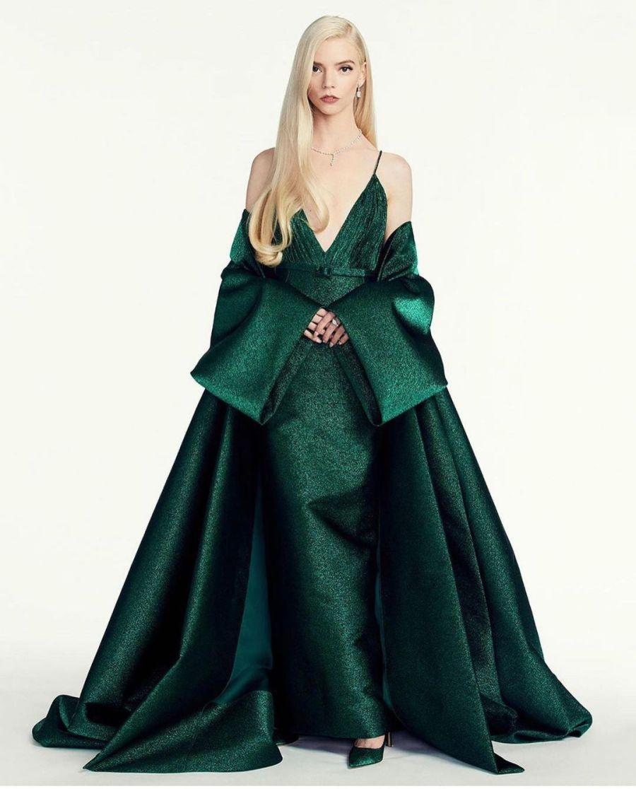 Con sangre Argentina: Anya Taylor-Joy la gran ganadora de la moda en los Golden Globes