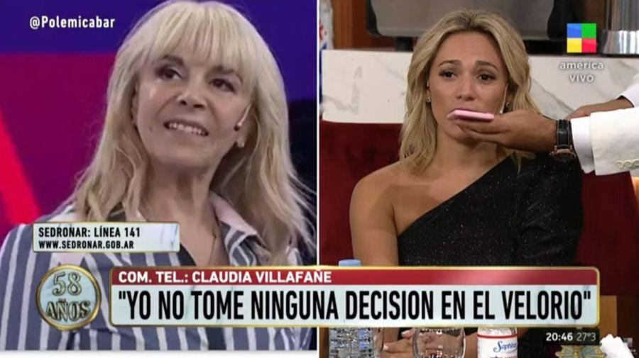 Claudia Villafañe y Rocio Oliva
