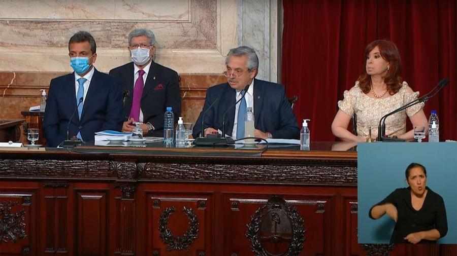 Cristina Fernández en la Asamblea Legislativa 20210302