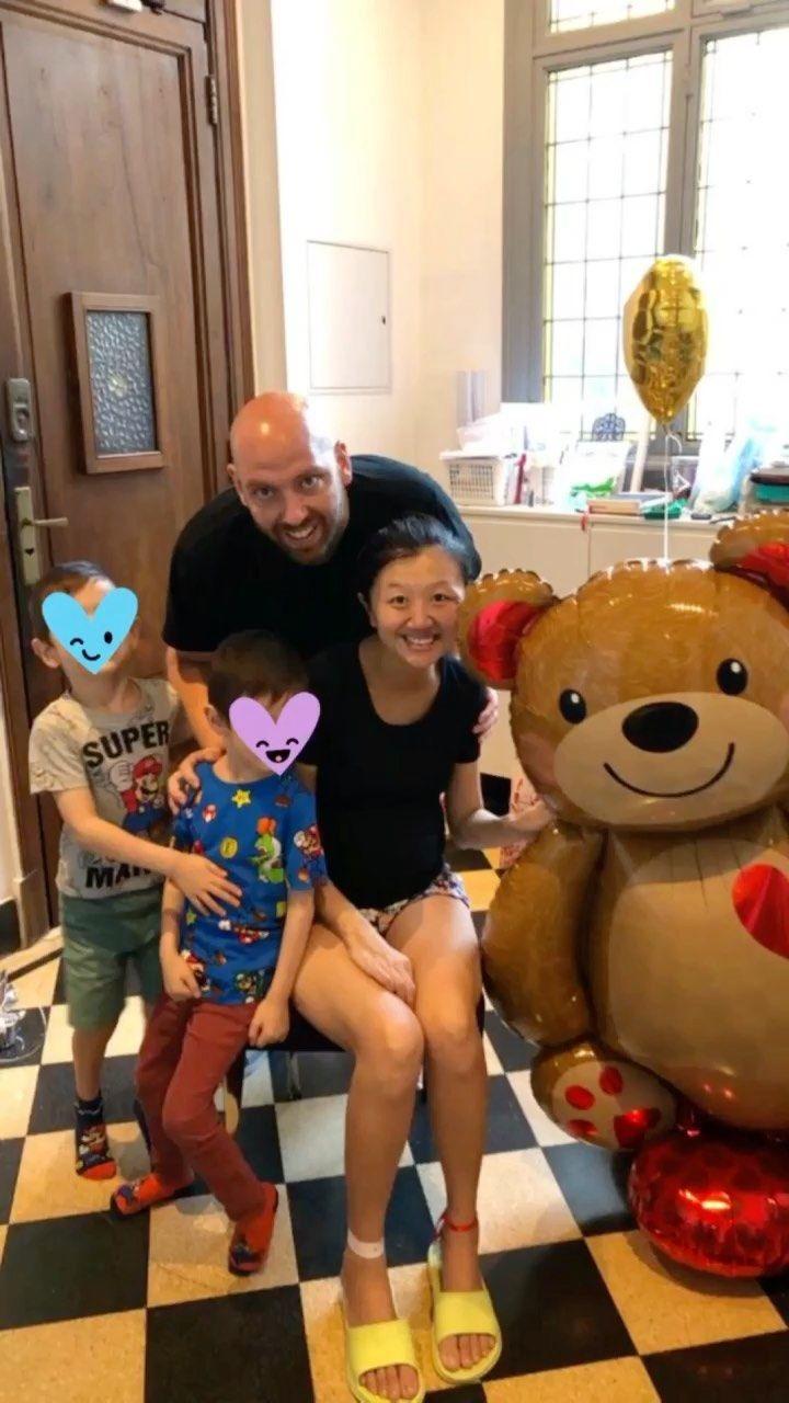 El video de Karina Gao tras recibir el alta tras vencer al coronavirus