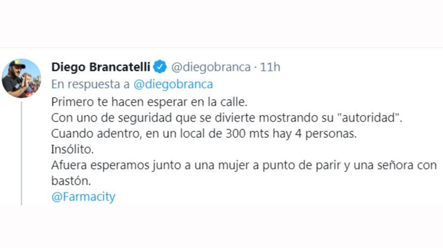 Diego Brancatelli tuit