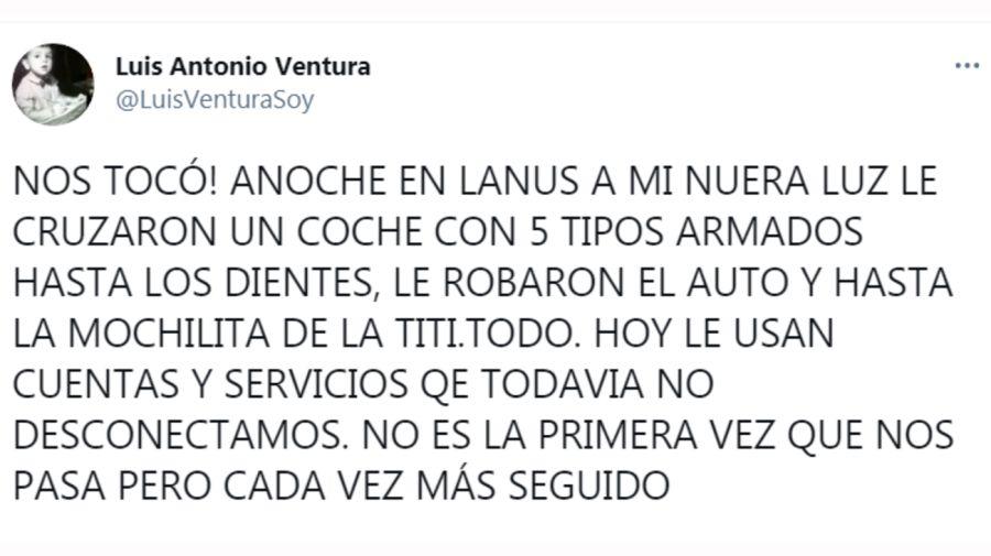 Luis Ventura Tuit