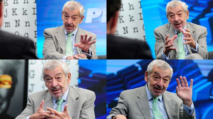 José Octavio Bordón, en la entrevista con Jorge Fontevecchia.