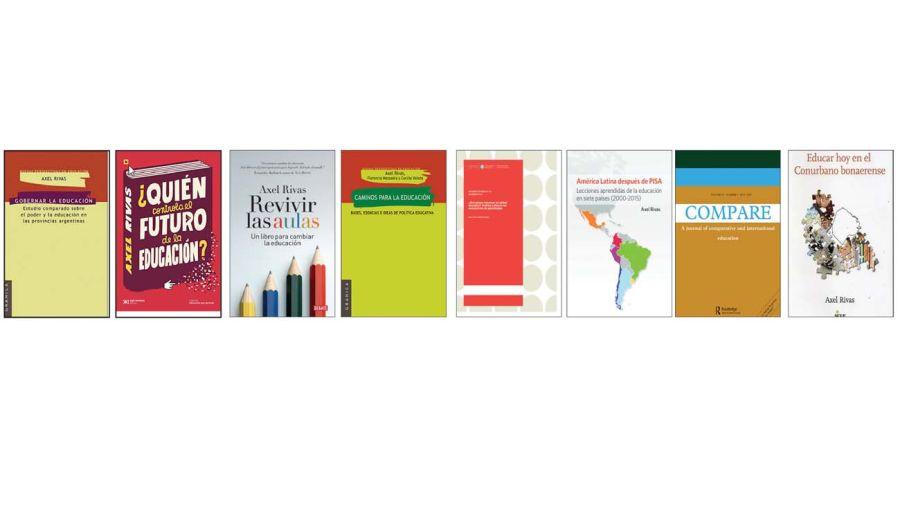 Libros de Axel Rivas.