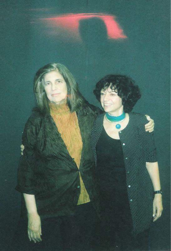 Luisa Valenzuela con Susan Sontag