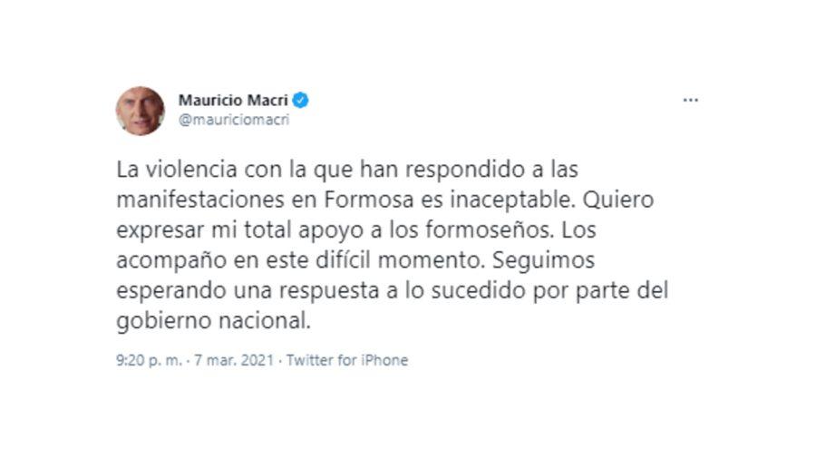 Mauricio Macri Formosa