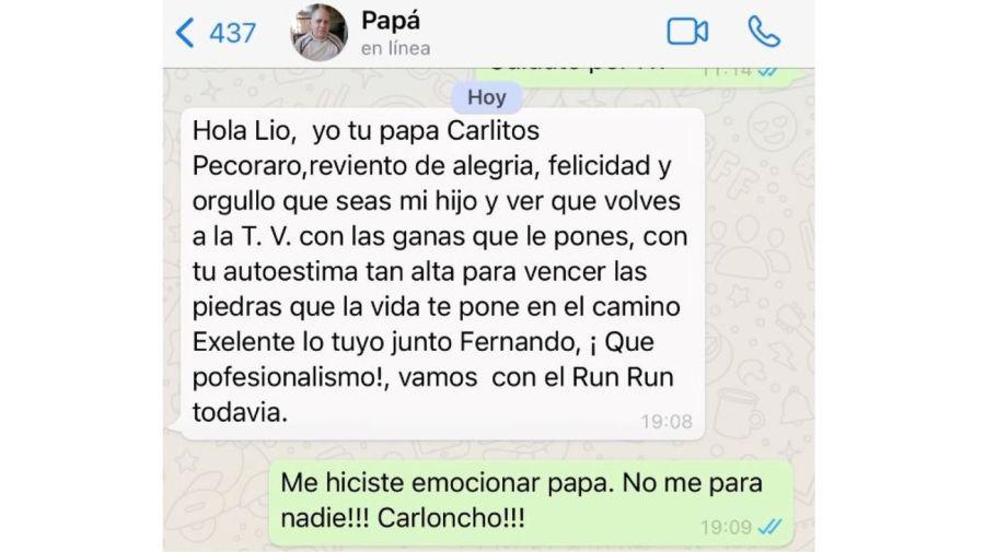 mensaje papa lio pecoraro