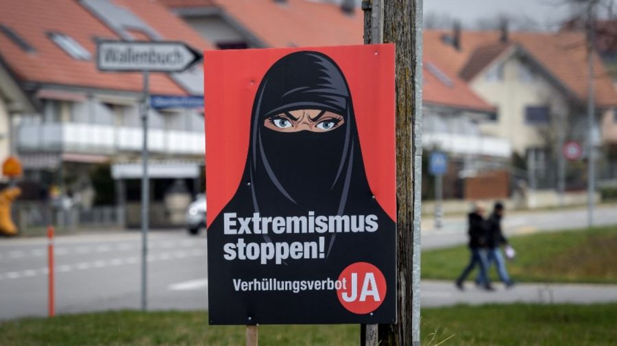 Burka Suiza Referendum