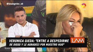 Verónica Ojeda se quebró al aire y reconoció que tiene pesadillas con Luque