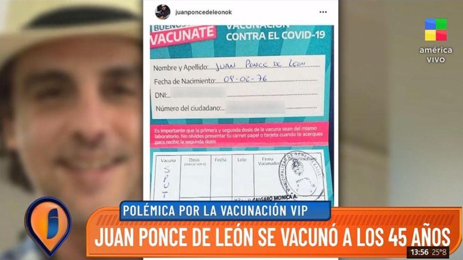 Juan Ponce de Leon - Vacuna Sputnik
