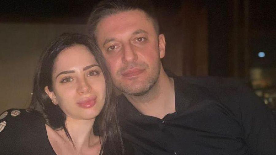 Matías Morla y su novia